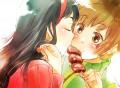 あたたかいキスを