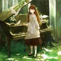少女とピアノ