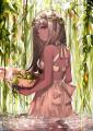 花冠の少女