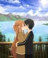 湖畔でキス /さとのん